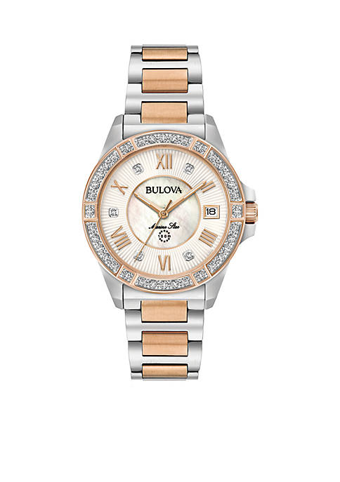 Bulova WMS DIAMOND TWO-TONE