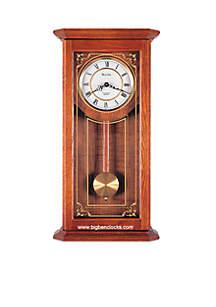 Cirrus Wall Chime Oak Clock