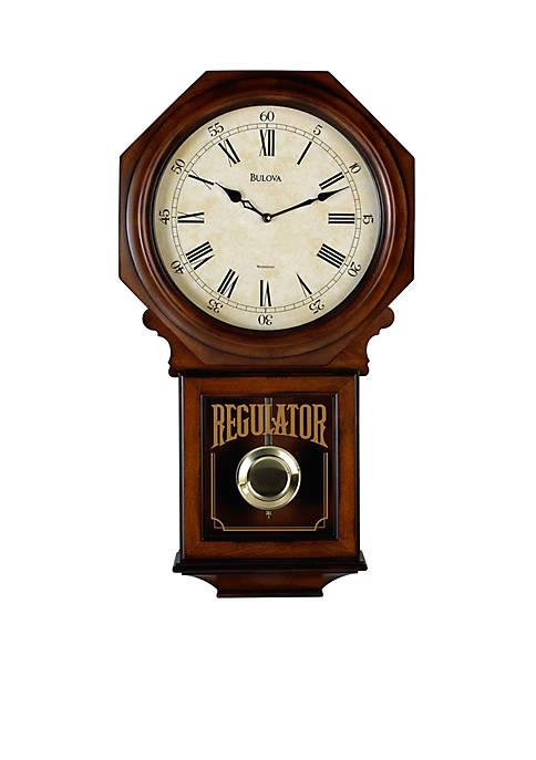 Bulova Ashford Chiming Pendulum Clock