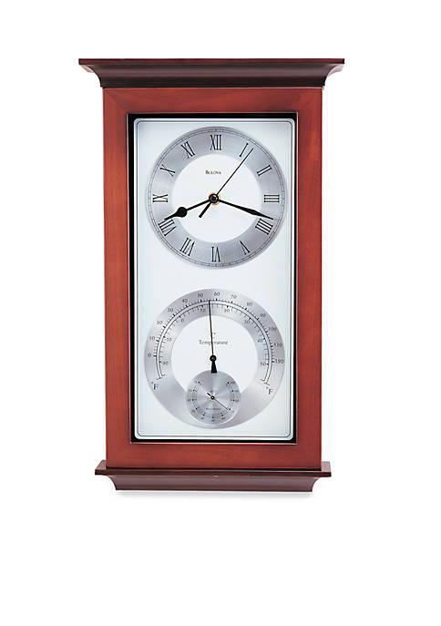 Bulova Yarmouth Maritime Wall Clock