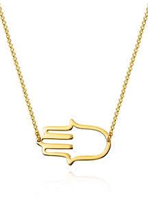 Belk & Co. 10k Yellow Gold Hamsa Bracelet