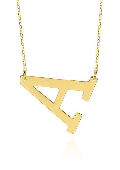 Belk & Co. 14k Yellow Gold Horizontal A