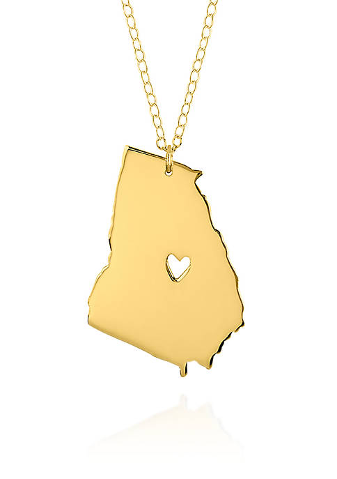 Belk & Co. 14k Yellow Gold Georgia State