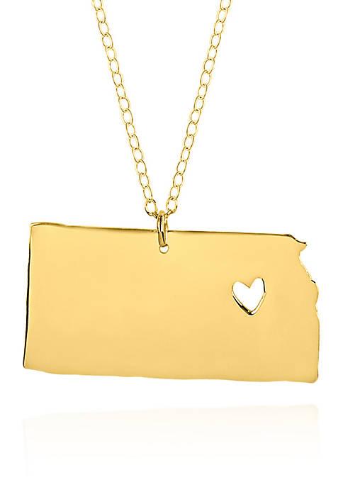 Belk & Co. 10k Yellow Gold Kansas State