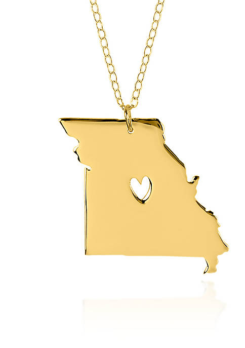 Belk & Co. 10k Yellow Gold Missouri State