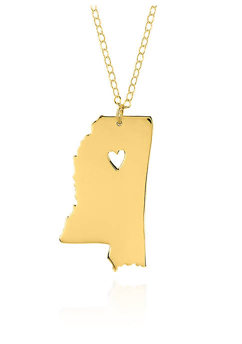 Belk & Co. 14k Yellow Gold Mississippi State