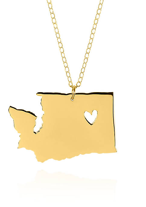 Belk & Co. 14k Yellow Gold Washington State