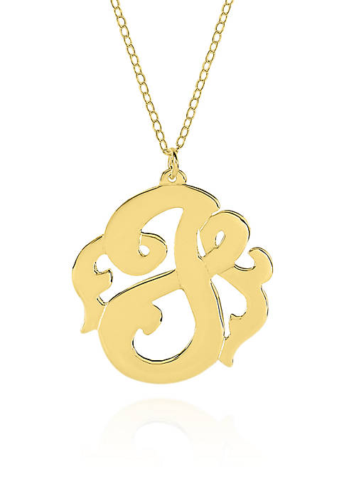 Belk & Co. 14k Yellow Gold J Monogram