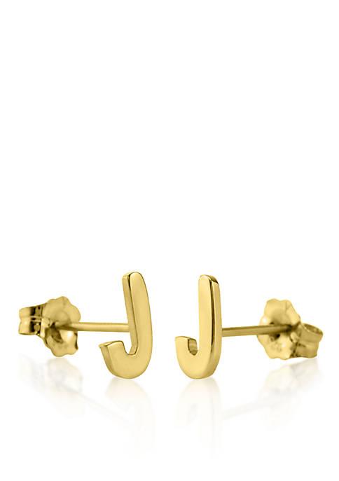 Belk & Co. 10k Yellow Gold J Initial