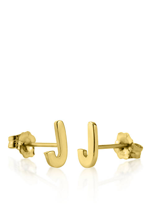 Belk & Co. 14k Yellow Gold J Initial