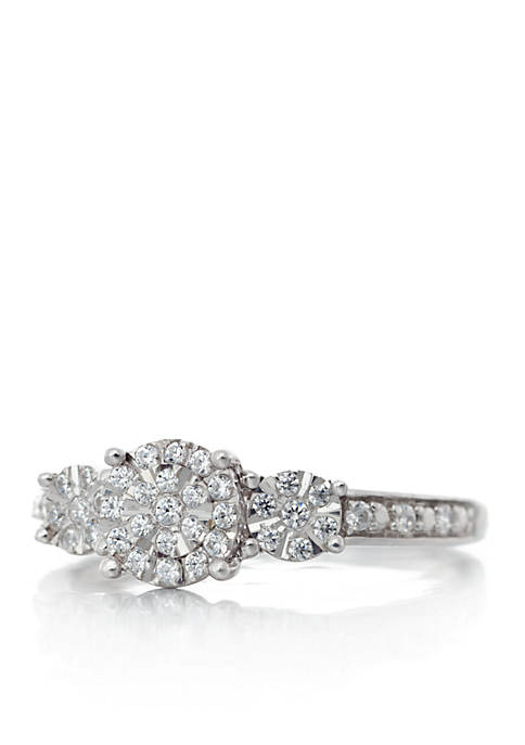 Belk & Co. 1/4 ct. t.w. Diamond Ring