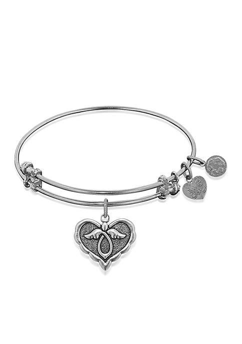 Belk & Co. Angel Heart Expandable Bangle
