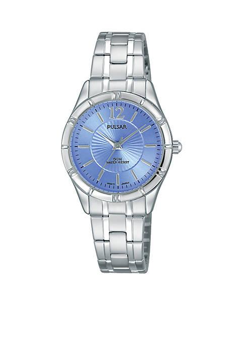 Pulsar Womens Stainless Steel Watch
