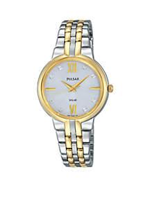 Women's Solar Two-Tone Watch