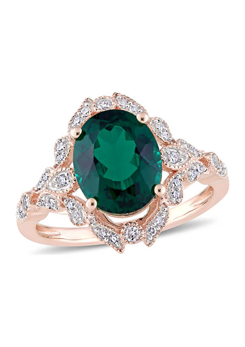Belk & Co. 3.33 ct. t.w. Created Emerald