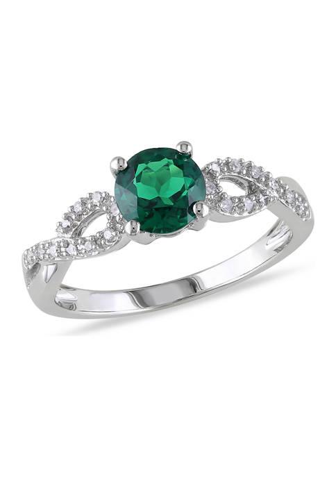 Belk & Co. 4/5 ct. t.w. Created Emerald