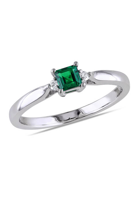 Belk & Co. 1/5 ct. t.w. Created Emerald