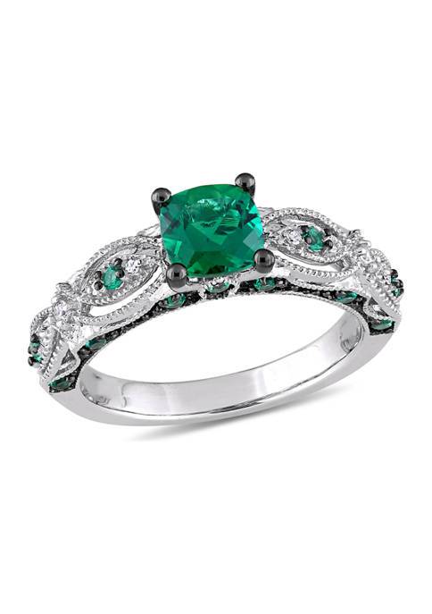 Belk & Co. 1.12 ct. t.w. Created Emerald