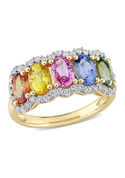 Belk & Co. 3.33 ct. t.w. Multi-Color Sapphire