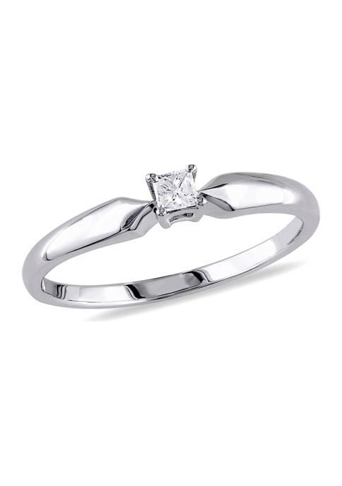 Belk & Co. 1/10 ct. t.w. Diamond Princess-cut