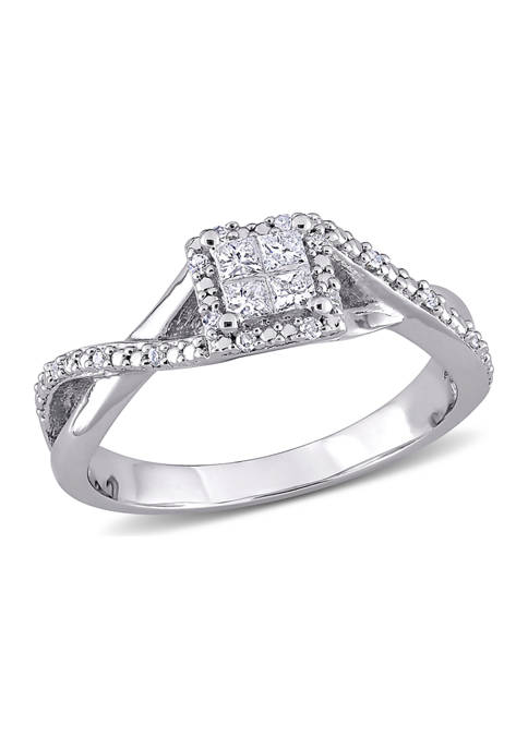 Belk & Co. 1/4 ct. t.w. Diamond Princess-Cut