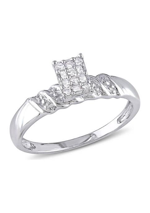 Belk & Co. 1/10 ct. t.w. Diamond Engagement