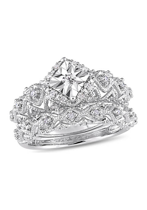 Belk & Co. 1/5 ct. t.w. Diamond Vintage