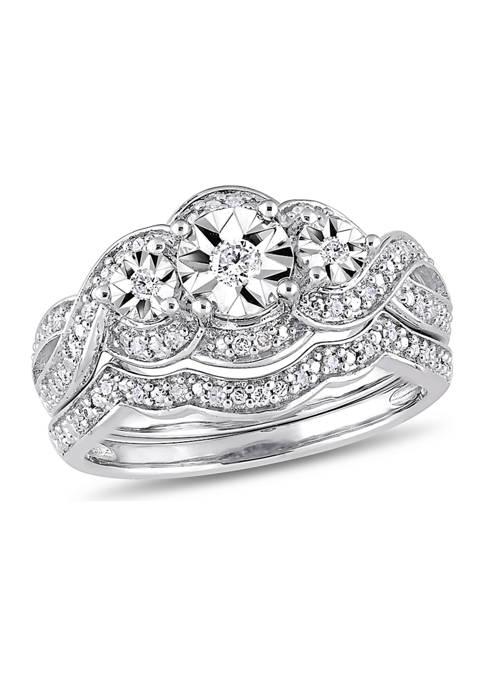 Belk & Co. 1/4 ct. t.w. Diamond 3-Stone