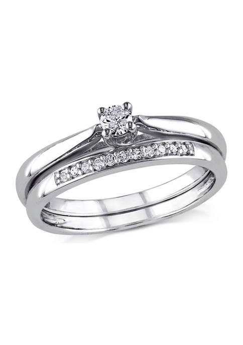 Belk & Co. 1/6 ct. t.w. Diamond Bridal