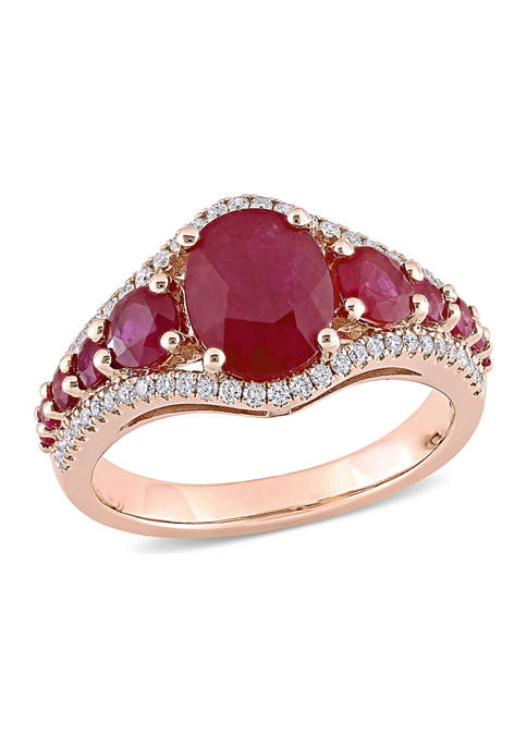 Belk & Co. 3.4 ct. t.w. Ruby and