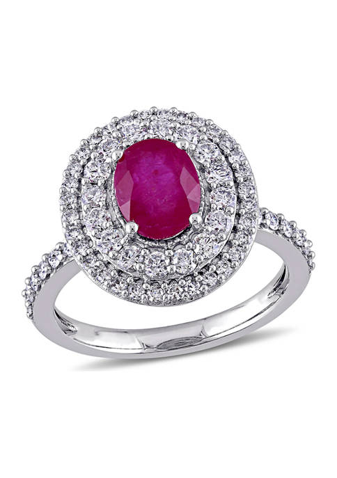 Belk & Co. 1.5 ct. t.w. Ruby and