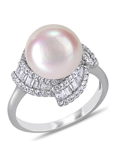 Belk & Co. 10.5-11 Millimeter Cultured Freshwater Pearl