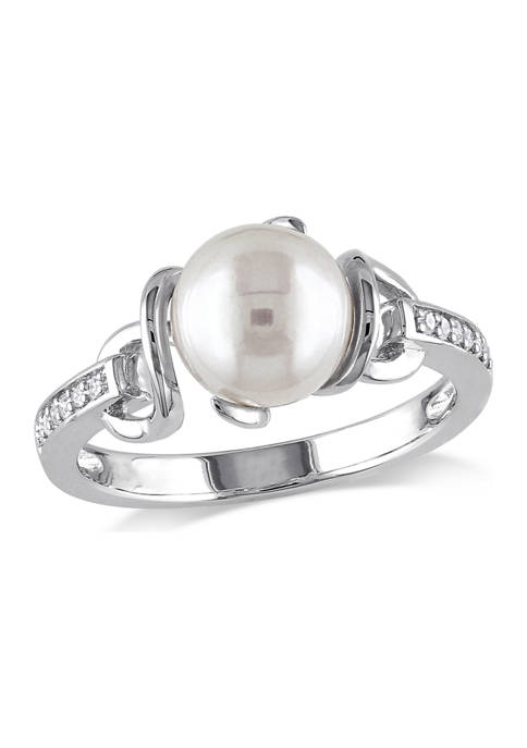 Belk & Co. 8-8.5 MM Cultured Freshwater Pearl