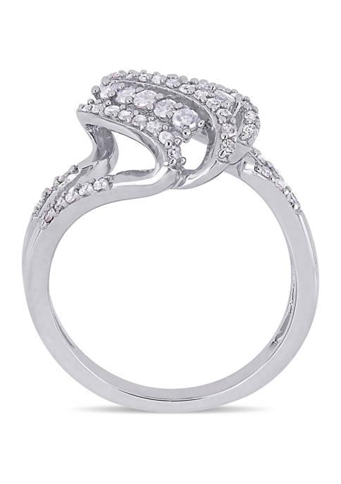 Belk & Co. 1/2 ct. t.w. Diamond Spiral