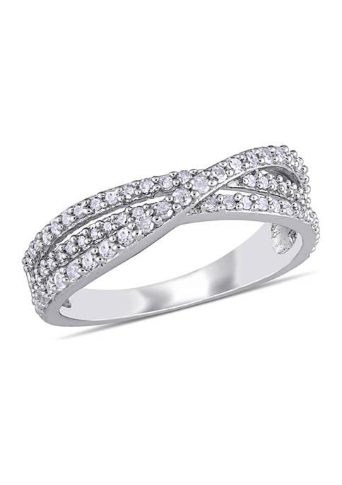 Belk & Co. 1/2 ct. t.w. Diamond Crossover