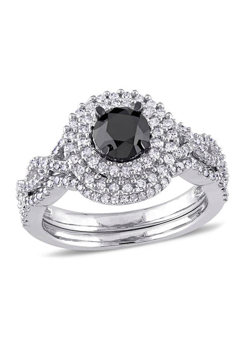 Belk & Co. 1.5 ct. t.w. Black and