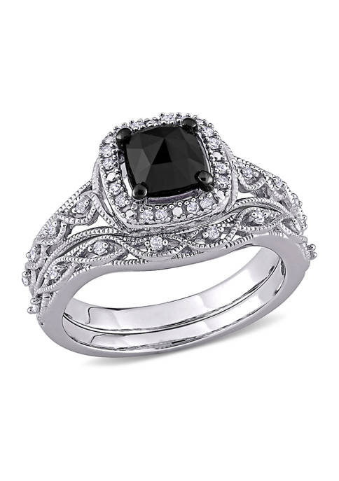 Belk & Co. 1.2 ct. t.w. Black and