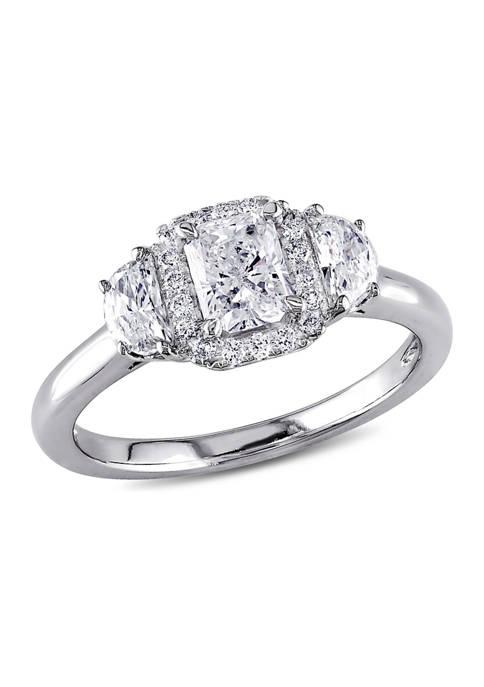 Belk & Co. 1 ct. t.w. Diamond Radiant