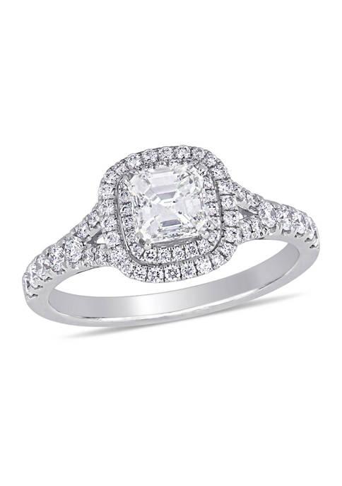 Belk & Co. 1.2 ct. t.w. Diamond Asscher-Cut