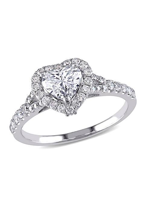 Belk & Co. 1.1 ct. t.w. Diamond Heart