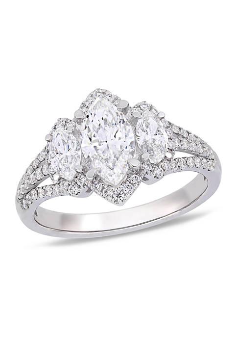 Belk & Co. 1.8 ct. t.w. Diamond Marquise