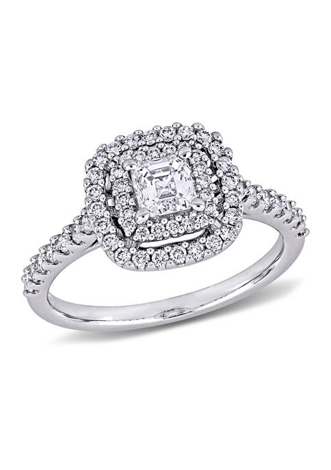 Belk & Co. 1 ct. t.w. Diamond Asscher