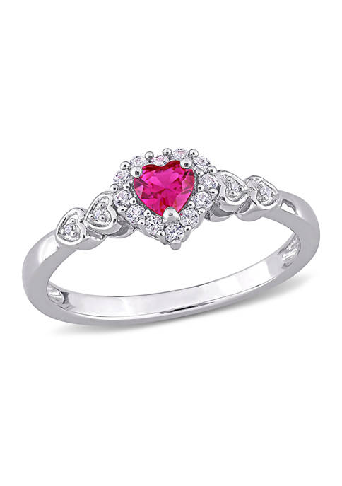 Belk & Co. Created Ruby Created and White