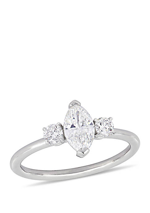 Belk & Co. 1 ct. t.w. Marquise and