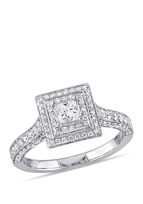 Belk & Co. 1.25 ct. t.w. Princess and