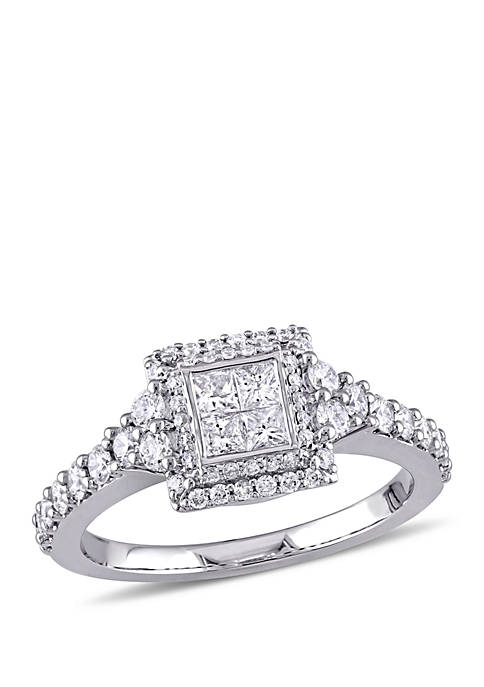 Belk & Co. 1 ct. t.w. Princess Quad
