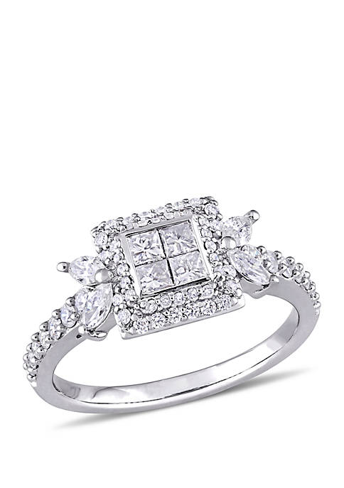 Belk & Co. 1 ct. t.w. Princess-cut Diamond