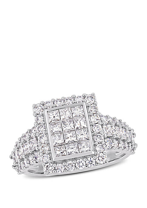 Belk & Co. 2 ct. t.w. Princess and