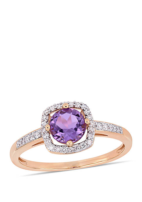 Belk & Co. 5/8 ct. t.w. Amethyst and