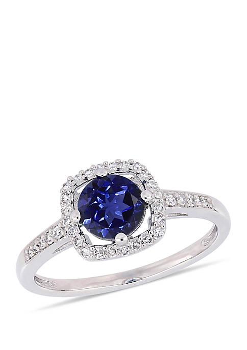 Belk & Co. 1.0 ct. t.w. Created Sapphire